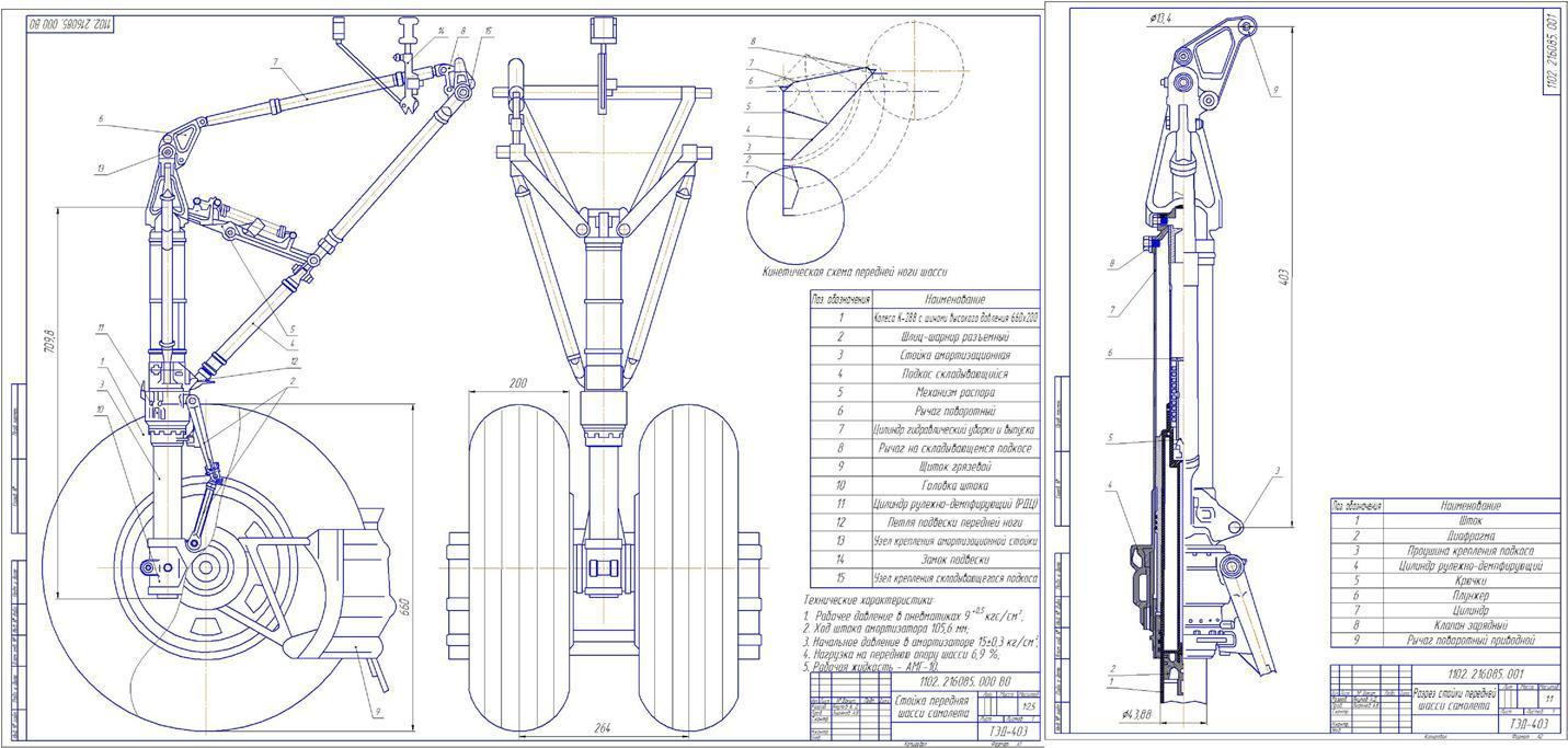 Моделирование авиационных конструкций